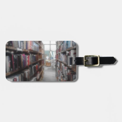 For the reader in you bag tag