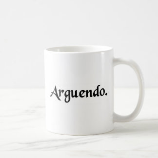 For the sake of argument mugs