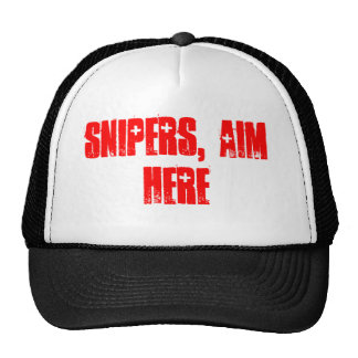 For the Snipers Trucker Hats