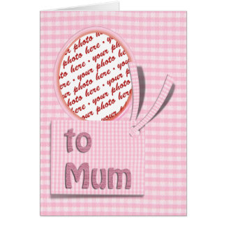 For The Special Mum on Mother's Day Greeting Card