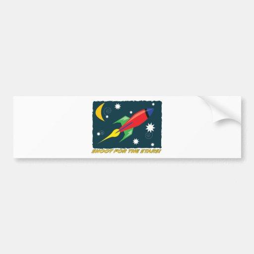 For The Stars! Car Bumper Sticker