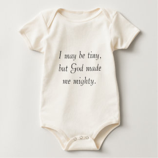 For the tiniest of mighty romper