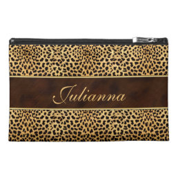 for the Traveler Cheetah Print and Stiletto Travel Accessory Bag