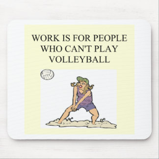 for the volleyball player mouse pad