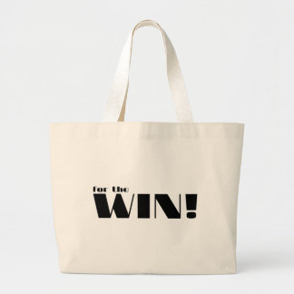 For The Win! 2 Large Tote Bag