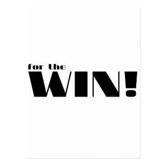 For The Win! 2 Postcard