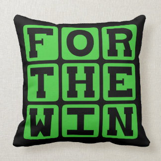 For The Win FTW Internet Meme Pillows