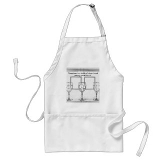 For the Wine Lover Adult Apron