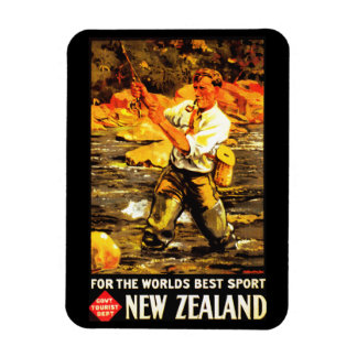 For The World's Best Sport ~ New Zealand Magnet