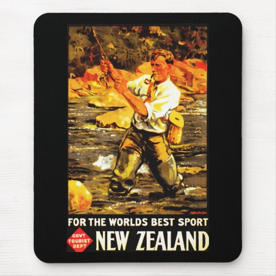 For The World's Best Sport ~ New Zealand Mouse Pad
