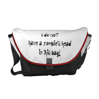 For the Zombie Hunter in your life! Courier Bag