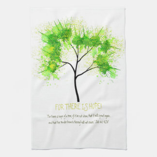 For There is Hope! Kitchen Towel
