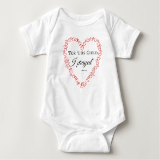 For This Child Baby Bodysuit