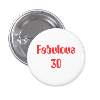 For those embarking on the most fabulous decade button