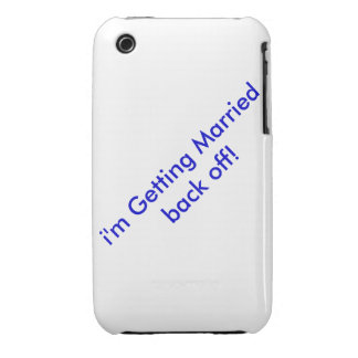 for those who forget iPhone 3 case