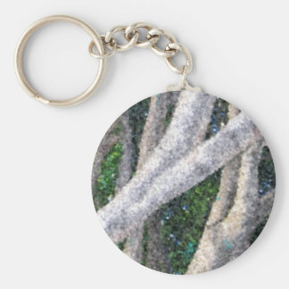 For Tree Huggers Basic Round Button Keychain