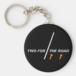 For Two the road Keychains