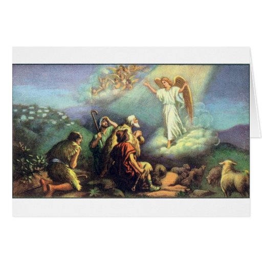 For Unto Us a Child is Born! Greeting Cards