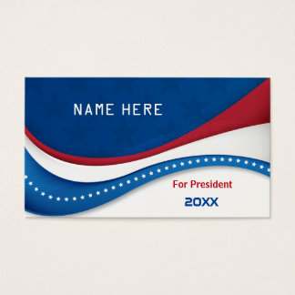 For USA President 2016 Business Card