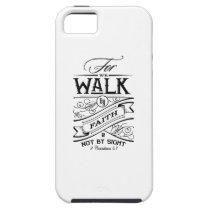 for walk by faith N not by sight girlfriend t-shir iPhone SE/5/5s Case