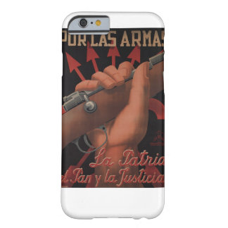 For weapons, the country_Propaganda Poster Barely There iPhone 6 Case