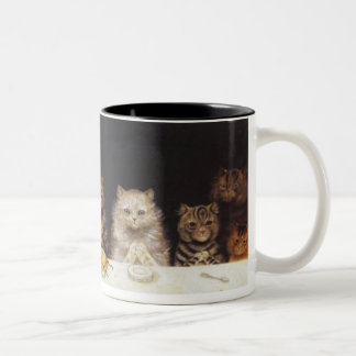 For what we are about to receive -Louis Wain mug