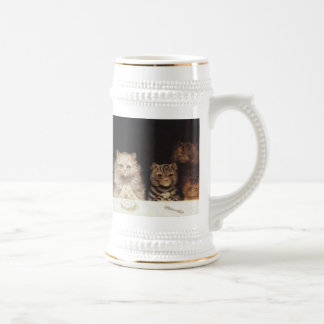 For what we are about to receive -Louis Wain Stein Coffee Mug