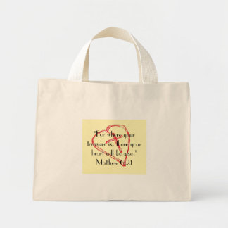 For where your treasure is... Bag