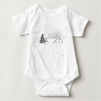 For whom the bell tolls... baby bodysuit