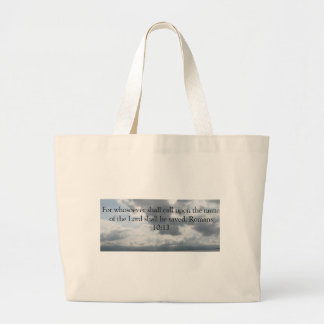 For whosoever shall call upon the name of the Lord Canvas Bag