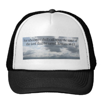 For whosoever shall call upon the name of the Lord Trucker Hat
