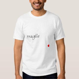 For Women - Vintage Dark Fragile X Heart T Shirt