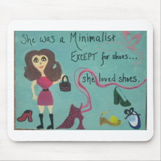 For women who love shoes mouse pad