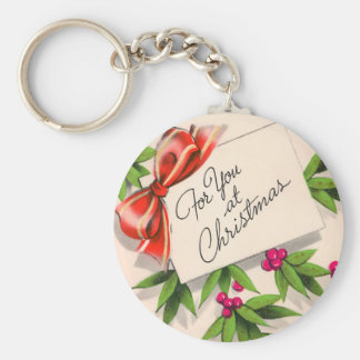For You At Christmas Keychain