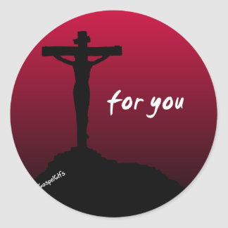 """For You"" Christian Sticker"