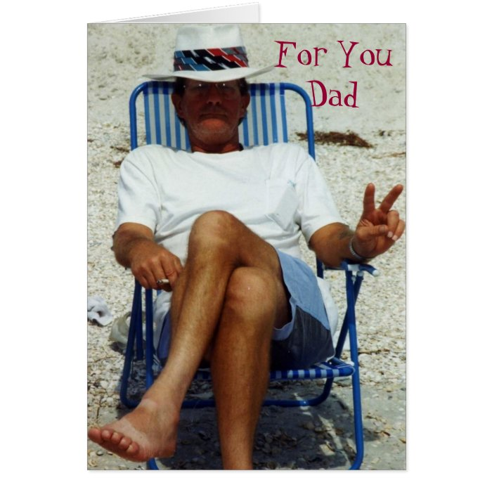 For You Dad Card