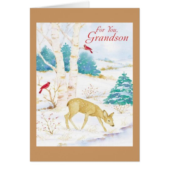 For You, Grandson Card