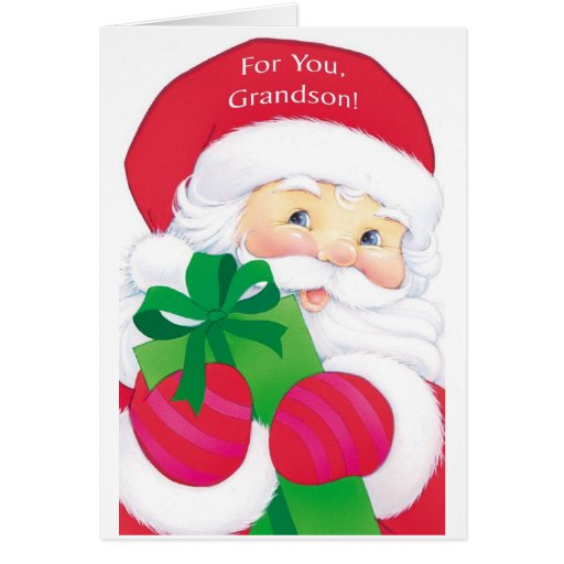 For You, Grandson Greeting Card