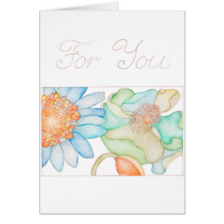 For You greeting card