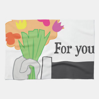 For You! Hand Towel