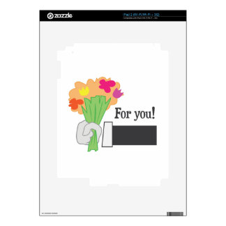 For You! iPad 2 Skins