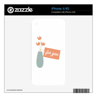 For You iPhone 4S Decal