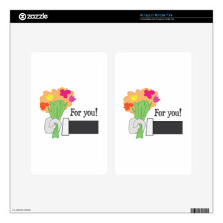 For You! Kindle Fire Decals