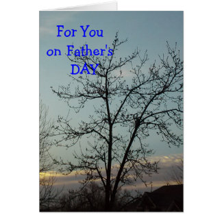 For You On Father's Day Greeting Card