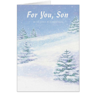 For You, Son With Love at Christmas Card