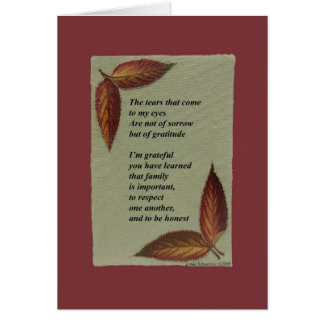 For Your Daughter - Son - Grandchild -Foster Child Card