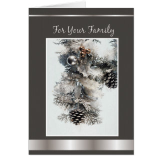 For Your Family Card