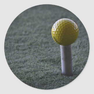 For your favorite Golfer Classic Round Sticker