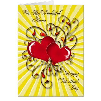 For your fiance, a stunning Valentine's card.