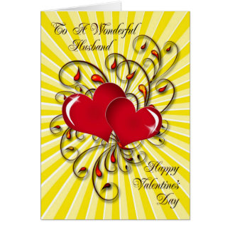 For your husband, a stunning Valentine's card.